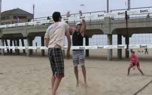 2-Ball-Beach-Volleyball-Defense-Drill-Off-a-Bench-with-a-Line-Pull-and-Line-Defense-by-Pedro-Brazao