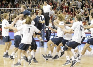 2012 NCAA Mens Volleyball Finals and Weekend