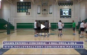 4 Ball Drill, 6 on 6 - Video 4, Continued on One Court