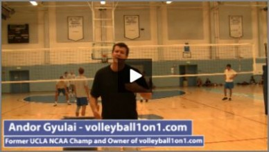 4 Team Volleyball Passing and Swing Hitter Progression Drills from Series with Andor Gyulai