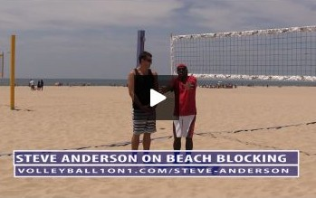 5 Video Beach Volleyball Blocking Series with Steve Anderson