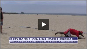 5 Video Beach Volleyball Defense Series with Steve Anderson