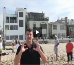 Adriano Ticao Beach Volleyball Beginner Drill Setting
