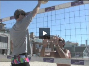 Adriano Ticao Beach Volleyball Blocking Angle