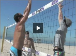 Adriano Ticao Beach Volleyball Blocking Line