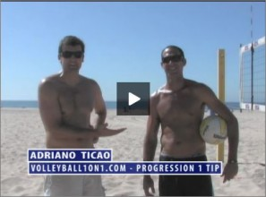 Adriano Ticao Beach Volleyball Progression Drill I