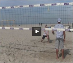 Adriano Ticao Beach Volleyball Progression Drill III Pro