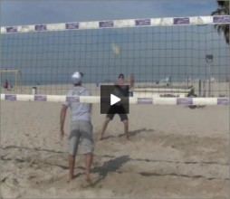Adriano Ticao Beach Volleyball Progression Drill IV Pro