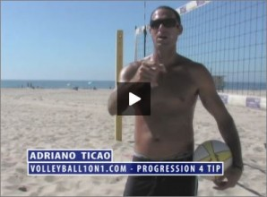 Adriano Ticao Beach Volleyball Progression Drill IV