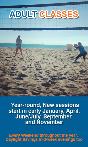 Adult Volleyball Classes in OC, CA300x500