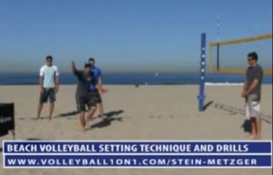 Advanced Beach Volleyball Setting Technique with Stein Metzger