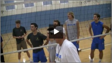 Al Scates - Volleyball Spiking Joust Technique and Drill