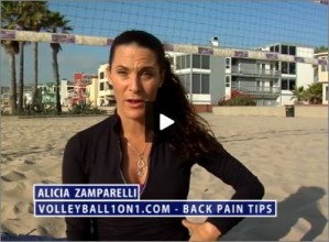 Alicia Zamparelli Back Pain