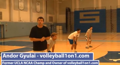 Andor Gyulai Volleyball Pepper Drill and Tips