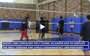 Andor Simplifies The Exchange Drill Even Further and Adds More Instruction