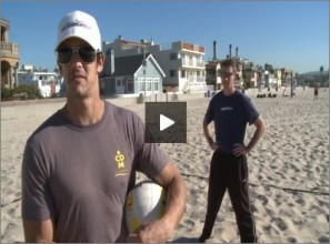 Anthony Medel Beach Volleyball Warm Up Star Drill