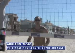 Beach Volleyball Blocking, Pulling Angle