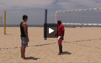 Beach Volleyball Blocking with Steve Anderson - Video 2 Mindset