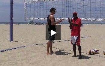 Beach Volleyball Blocking with Steve Anderson - Video 4 Body Position