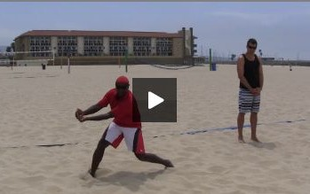 Beach Volleyball Defense with Steve Anderson - Video 1 Demonstration