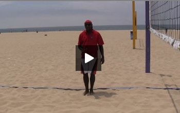 Beach Volleyball Defense with Steve Anderson - Video 2 Positioning