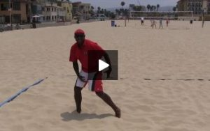 Beach Volleyball Defense with Steve Anderson - Video 4 Play On the Ball
