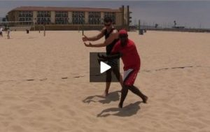 Beach Volleyball Defense with Steve Anderson - Video 5 Shadowing