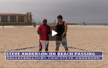 Beach Volleyball Passing - Video 2 Footwork