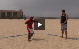 Beach Volleyball Passing - Video 3 Tracking