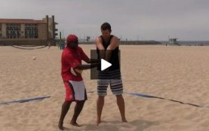 Beach Volleyball Passing - Video 4 Play on the Ball