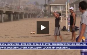 Beach Volleyball Self Setting Square Drill with Jason Lockhead