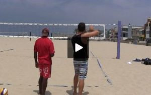 Beach Volleyball Serving - Video 1 Demonstration