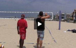Beach Volleyball Serving - Video 1 Demonstration