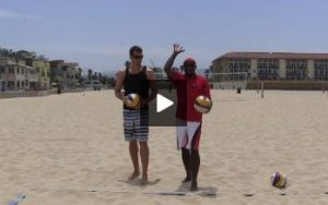 Beach Volleyball Serving with Steve Anderson - Video 4 Targeting