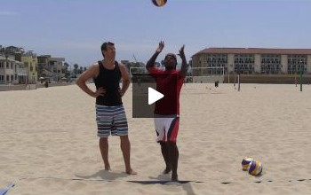 Beach Volleyball Serving with Steve Anderson - Video 5 Rhythm