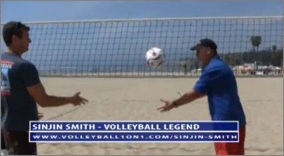 Beach Volleyball Setting Technique with Sinjin Smith