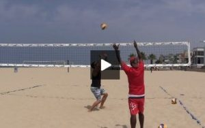 Beach Volleyball Setting - Video 1 Demo