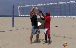 Beach Volleyball Setting - Video 2 Good Technique