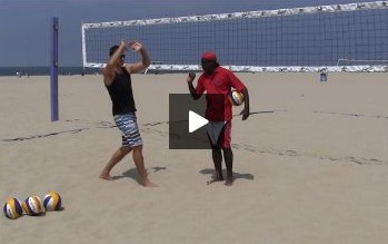 Beach Volleyball Setting - Video 3 Footwork