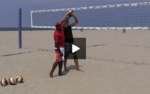 Beach Volleyball Setting - Video 4 Tracking