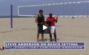 Beach Volleyball Setting - Video 5 Recovery