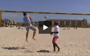 Beach Volleyball Spiking with Steve Anderson - Video 1 Demonstration