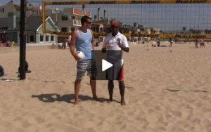 Beach Volleyball Spiking with Steve Anderson - Video 4 Gift Circle