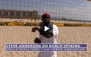 Beach Volleyball Spiking with Steve Anderson - Video 5 Strategy