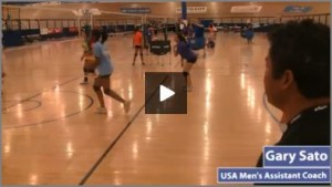 Beginners Volleyball Practice Pulling It All Together Drills with Gary Sato