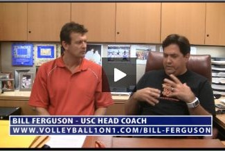 Bill Ferguson – Conversations from the Office, In Practice Serving Drill