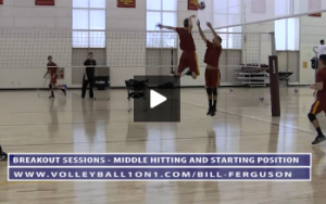 Bill Ferguson - Breakout Sessions - Middle Hitting With Libero Pass