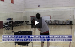 Bill Ferguson - Passing Tutor Spin Serves