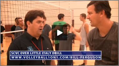 Bill Ferguson SCVC Little Italy Volleyball Drill
