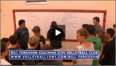 Bill Ferguson SCVC Club Volleyball Practice Plan Introduction